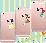 maycari®kissing bei Apple weiche transparente TPU Tasche für iphone5 / iphone 5s (verschiedene Farben)