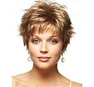 individuation  Ladys'  Short Synthetic Hair Wave Wigs Extensions Enough Stock