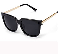 Sunglasses Men / Women / Unisex's Modern / Fashion Square Black / White / Brown / Red / Blue Sunglasses Full-Rim
