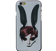 Rabbit  Pattern  Hard Case for iPhone 6/6S