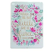 Flower Painted TPU Tablet computer case for ipad air2
