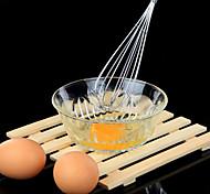 en acier inoxydable manuelle eggbeater