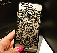 motif mandala pc dur cas de couverture pour l'iphone 6 6s plus / iphone en plus