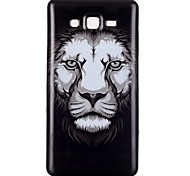 Lion Pattern TPU Phone Case for Galaxy On5/Galaxy On7/Galaxy J3