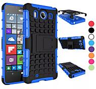 Caso 2 in 1 a due colori staccabile tpu + pc ibrido con kickstand per Nokia Lumia 950 (colori assortiti)