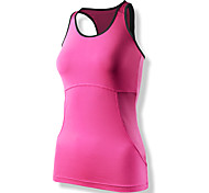 CLOTHIN® Women's Tank Yoga/Cycling Polyester&Elastano Cycling Sleeveless Vest