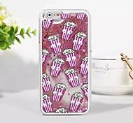 Die neue 3D-Popcorn kleinen schwarzen Sand glitter PC-Material Telefonkasten für iphone 6plus / 6s Plus