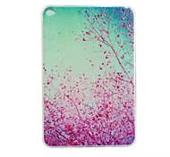 Cherry Blossoms Painted TPU Tablet computer case for ipad mini4