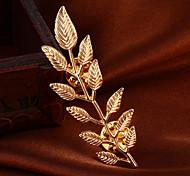 moda elegantes hojas de aleación broche noble de m para la mujer&dama