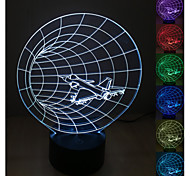 Visual 3D Space-time Machine Model Mood Atmosphere LED Decoration USB Table Lamp Colorful Gift Night Light