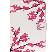 Plum blossom Folio Leather Stand Cover Case With Stand for iPad Mini 3/2/1