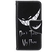 denture PU cas de support de la carte de matériel pour ipod touch 5/6