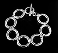 Hot Noble 925 Silver Plated Party Chain & Link Bracelets For Woman&Lady
