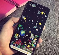 Stars Drifting in The Starry Sky Sand Pattern PC Back Case for iPhone 6/6S