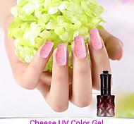1PCS Cheese Gel Nail Polish UV Gel 24 Colors 12 ml Gel Long Lasting Nail Polish 1-6
