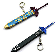 Weapon / Sword Inspired by The Legend of Zelda Cosplay Anime/ Video Games Cosplay Accessories Sword Blue / Gray Alloy Male