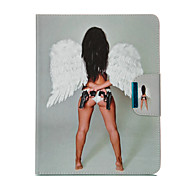 HASP ange peint support tablette cas PU pour ipad2 / 3/4