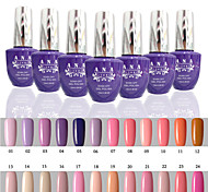 1 pcs ana 192 couleurs nail art gelpolish ongles en gel uv tremper hors de 15ml 1-24