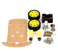 inteligente kit chassis do carro para arduino (funciona com placas oficiais arduino)
