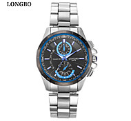 LONGBO Men Quartz Watches Fashion Brand Waterproof Male Wristwatch  Dial Decoration Free Shipping
