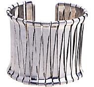 Vintage Triangle Joint Cuff  Bangle Bracelet