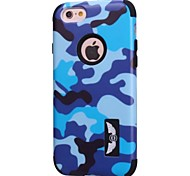 Camouflage Fashion Mobile Phone protectionShell For iPhone 6 Plus (Multi-Color Optional)