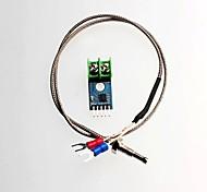max6675 tipo K sensor de temperatura termopar módulo termopar