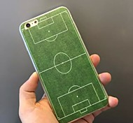 Green Grass Pattern TPU Combo Soft Phone Case for iPhone 6/6S