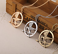 Movie The Hunger Games Bird Pendant Necklace