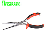 Afishlure Stainless Steel Multiple Function Lure Fishing Pliers Big 23cmLure Plier Fishing Tools Red Black Colors