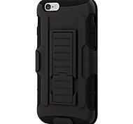 armatura ibrido caso militare 3 in copertura 1 combinazione per iphone 6 più / 6s più