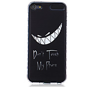LOGROTATE®Anti-skidding Design Don't My Phone Pattern TPU Soft Case for iPod Touch 5/6