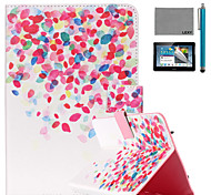 lexy® malte kleine Muster PU-Leder Flip-Standplatzfall mit Displayschutzfolie und Schreibkopf für ipad mini 1/2/3