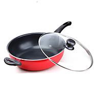 28 Cm Flat Titanium Frying Pan General Cooking Pot Induction Cooker Non-stick Pancake Maker Pan