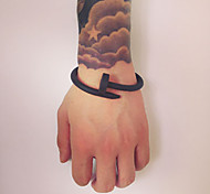 Bracelet Manchettes Bracelets Silicone Amour Soirée / Quotidien / Décontracté Bijoux Cadeau1pc