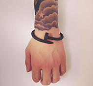 Lureme®European Style Fashion Lust Ltd  Silica Gel Nail Anion Lovers  Energy Bracelet