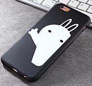 Super Popular Brands High-Grade White Rabbit TPU Soft Phone Case for iPhone 6/6S