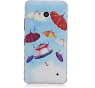 Color Umbrella Pattern TPU Soft Case for Nokia 640