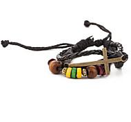 Alltag / Normal / Sport - Wickelarmbänder ( Leder )
