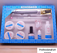 1 pz kit gel uv professionale