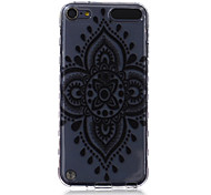 LOGROTATE®Anti-skidding Design Diamond Flower Pattern TPU Soft Case for iPod Touch 5/6
