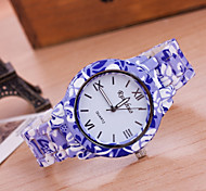 Woman And Men Fashion Rose Wrist  Watch