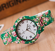Woman Printed Wrist  Watch
