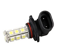 2pcs Car Auto H10/9145/9005/HB3 Fog Headlight Lamp Bulb White Light 18 SMD LEDs Light 12V