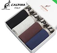 L'ALPINA® Men's Modal Boxer Briefs 4/box - 21132