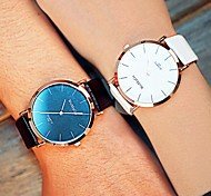 Couple's Circular Quartz Fashion Belt Watch(Assorted Colors) Cool Watches Unique Watches