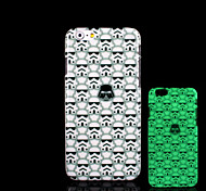 Skull Pattern Glow in the Dark Hard Plastic Back Cover for iPhone 5 for iPhone 5s Case