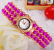 Ladies' Watch The Most Beautiful Ladies Knitted Beaded Quartz Watch