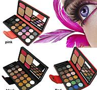 22 Colors Sombra de Ojos Brillo Paleta de sombra de ojos Polvo Conjunto