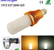 20W E26/E27 LED a pannocchia T 260 SMD 3528 1700 lm Bianco caldo / Luce fredda Decorativo AC 220-240 / AC 110-130 V 1 pezzo